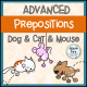 Advanced Prepositions NO PREP Worksheets