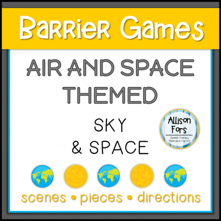 Air & Space Themed Barrier Games