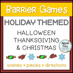Holiday Themed Barrier Game