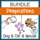 Prepositions Bundle NO PREP Worksheets