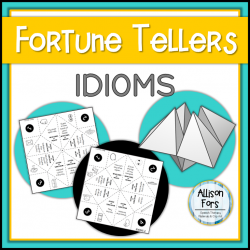 Figurative Language: Idioms Fortune Tellers