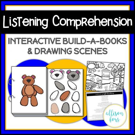 Listening Comprehension Interactive Books
