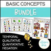 [NO PREP] Basic Concepts Worksheets Bundle