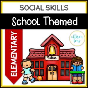 School Themed Social Skills