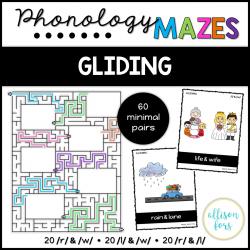 Phonology Mazes: Gliding