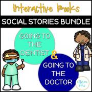 Interactive Books: Dentist & Doctor Savings Bundle