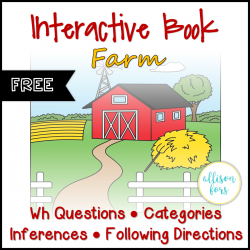 Interactive Book: Farm