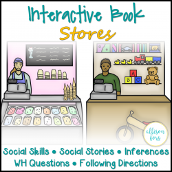 Stores Social Skills Interactive Book