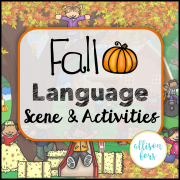 Fall Scene: Expressive & Receptive Language