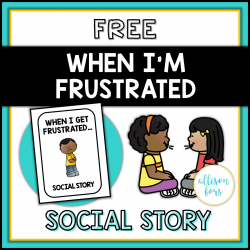 Behavior Social Story