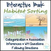 Interactive Book: Habitats