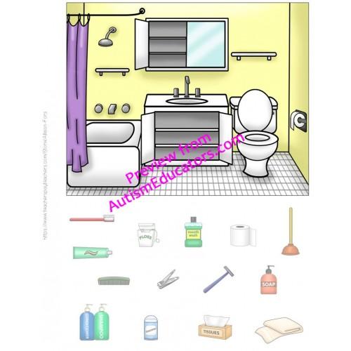 Interactive book bathroom for Small bathroom goals