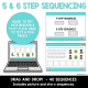 3-6 Step Sequencing Bundle NO PRINT Boom Cards