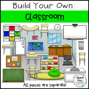 Build Your Own Classroom Clip Art