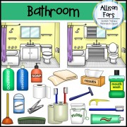 Bathroom & Hygiene Clip Art