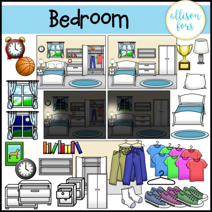 Bedroom Clip Art