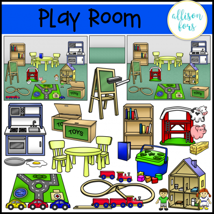 Play Room Clip Art