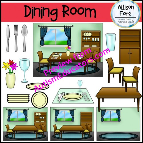 dining room clip art
