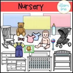 Nursery and Baby Clip Art
