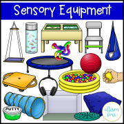 Sensory Room Equipment Clip Art