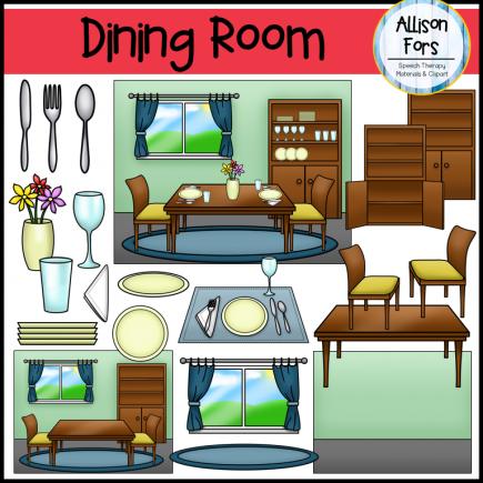 Dining Room Clip Art