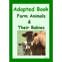 Adapted Book: Farm Animals & Their Babies