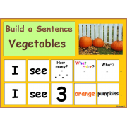 Build a Sentence - Vegetables