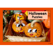 Halloween Photo Puzzles and Posters, Cut and Paste Activity