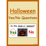 Yes/No Questions -Halloween