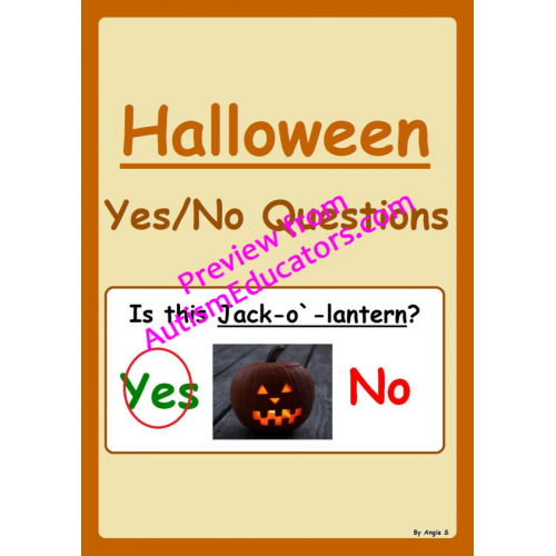 yesno questions halloween