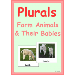 Plurals- Farm Animals & Their Babies