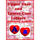 Upper Case & Lower Case Letter Matching Activity - Hearts