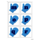 Letter Matching Uppercase and Lowercase - Winter