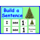 Winter & Christmas Build a Sentence for Speech Therapy and Special Ed