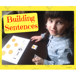 Sentence Building, Building Sentences Activity for Special Ed and Speech Therapy