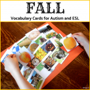 Fall Photo Flash Cards