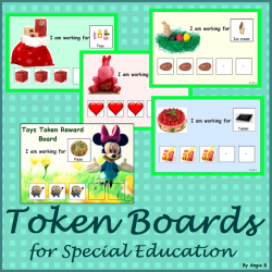 Token Boards Reward System for Autism, Behavior Management