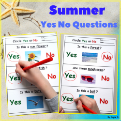 Summer Worksheets for Special Education