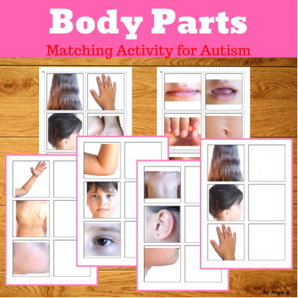 Body Parts Matching Activity