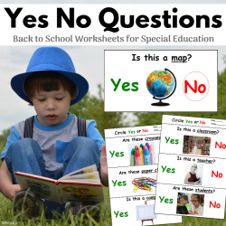 Print and Go Back to School Yes No Questions