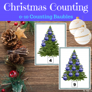Christmas Counting Activity and Posters