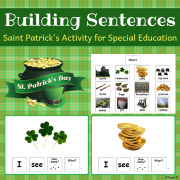St Patrick`s Day Build a Sentence