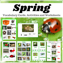 Spring Activities and Worksheets Packet