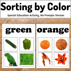 Sorting by Color (no prompts)