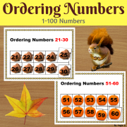 Fall Ordering Numbers 1-100