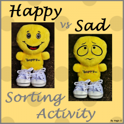 Happy vs Sad Faces Sorting Activity