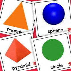 2D / 3D Shapes (UK) - Autism / Dyslexia / ASD