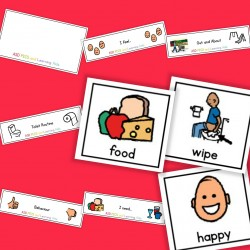 5 in 1 Board and Cards - Boardmaker / Autism / ADHD / ASD / PECS
