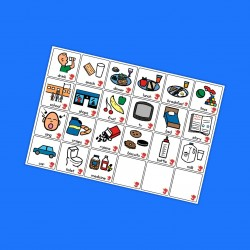 Basic Symbol Cards - Boardmaker / Autism / ADHD / ASD / PECS