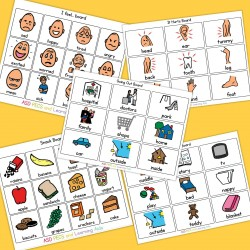 Communication Boards - Boardmaker / Autism / Non-verbal / ADHD / ASD / PECS